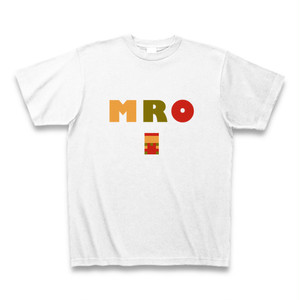 MRO(スーパーマリオ風)配色Tシャツ