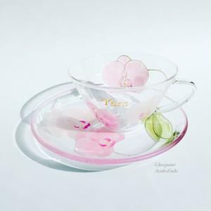 【母の日プレゼント】ピンク胡蝶蘭ティーカップ1つ|母の日ギフト・還暦祝い・退職祝い・誕生日プレゼント