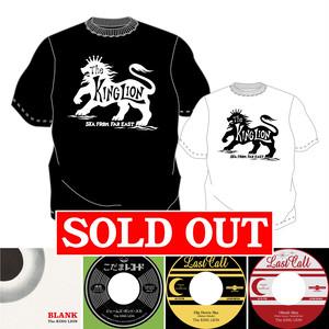 [セット割] BLANK + 7inch 3titles + Tシャツセット - The KING LION