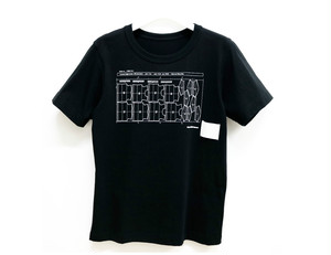 Paimy_17SS_マーキングTシャツ/ブラック