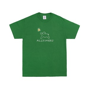 ALLTIMERS / CLAIRE PUP TEE -KELLY GREEN-