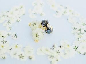 押し花アクセサリー カスミモノトーン