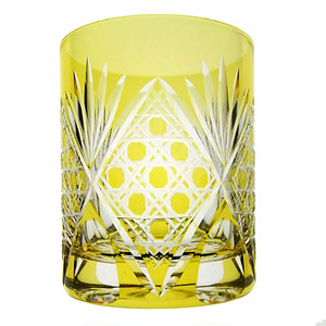 ロックグラス(黄色)