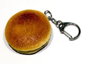 どら焼き 食品サンプル キーホルダー ストラップ