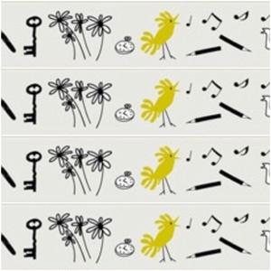 mt マスキングテープ OlleEksell / Bird Pencil