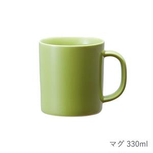 西海陶器 波佐見焼 「コモン」 マグ 330ml グリーン 13262