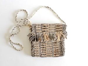 手織りミニポシェット