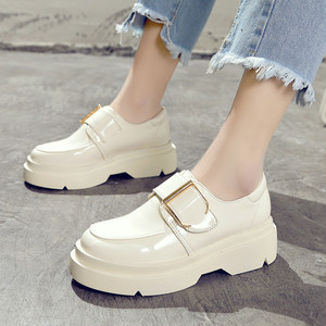 【flat shoes】 2018 Spring New fashion Thick bottom flat shoes