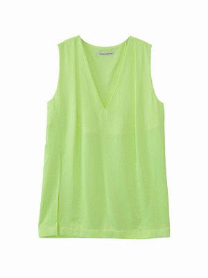 Slip top  / yellow green / S15TP02
