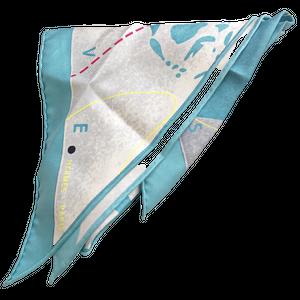 【VINTAGE BRAND SCARF 】エルメススカーフ 2021-062