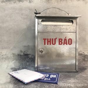 ベトナムのブリキポスト