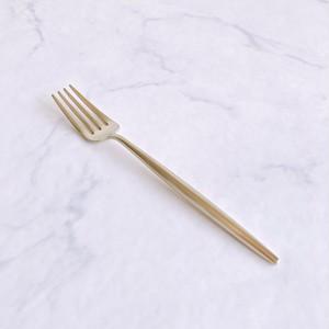 クチポール(Cutipol)MOON MATT マット シャンパンゴールド デザートフォーク