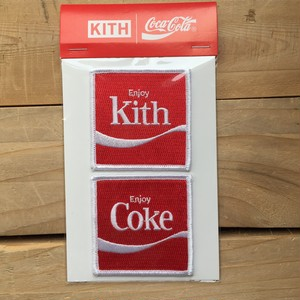 Kith Coca Patch Set