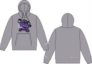 (受注生産)BANNINGS ×MAMfDAD Classic Purple Aid Hoody