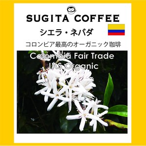 コロンビア・シエラ・ネバダ 200g 1250円  (コロンビア産珈琲豆)