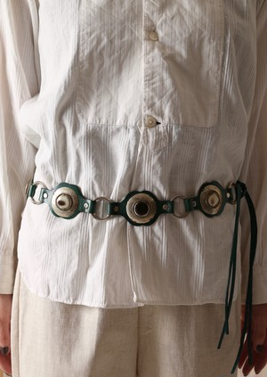 Vintage Sculpture Decorative Belt
