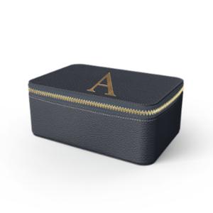 Box Premium Shrink Leather Case (Navy)