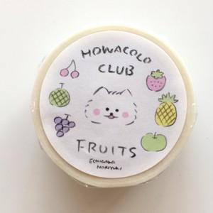 マスキングテープ HOWACOLO CLUB FRUITS