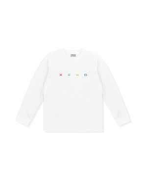 XENO EMBROIDERY LS T-shirt White