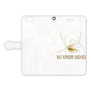 [手帳型iPhoneケース] Big Kahuna Burger