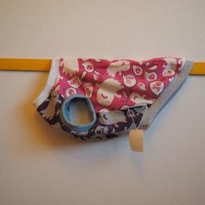 【M】ピンクおばけのタンクトップ 犬服・小型犬