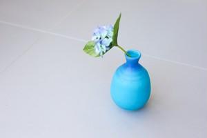 第二弾!先着30個限定予約販売開始!美濃焼ブルー徳利(とっくり)花瓶にもおすすめ