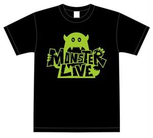 『MONSTER LIVE!』Tシャツ(黒) サイズS・M・L