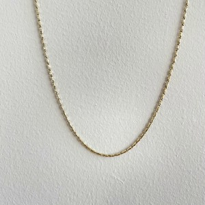 【14K-3-20】16inch 14K real gold chain necklace