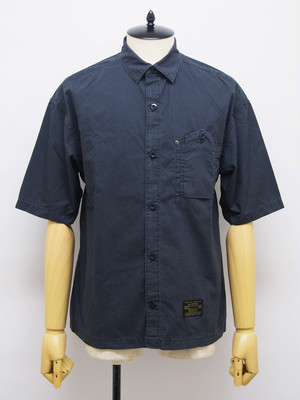 EGO TRIPPING (エゴトリッピング) LAX WORK SHIRTS / NAVY 613458-83