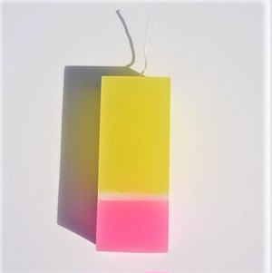 【キャンドル】Airflow Candle「Yellow And Pink」