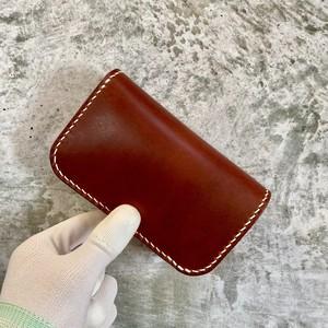 【受注製作】Middle Wallet(チョコ)