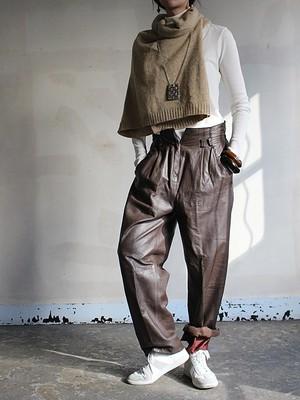 80s  vinatge Leather pants