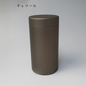 ミニ骨壷With(ウィズ)60h 直径60mm×高115mm チャコール【日本製】