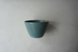 眞砂眞砂子 フリーカップ 小鉢 ブルーグリーン