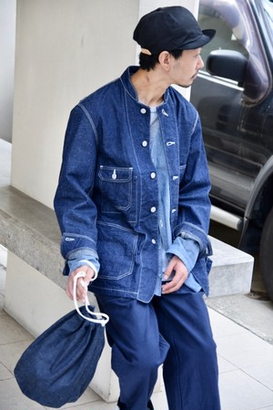 【ORDINARY FITS】DENIM COVERALL 3rd/OF-J027OW