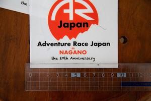 【期間限定】20 Anniversary ARJステッカー/Mサイズ