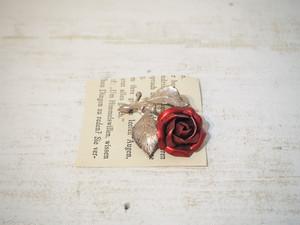 Vintage Rose Motif Brooch [A-361]