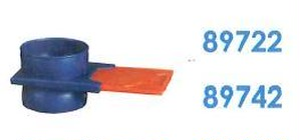 """89722 吸引フレキシブルチューブ 2.5""""スライドバルブ"""