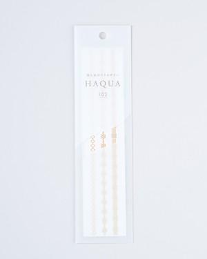 水と箔のアクセサリー HAQUA-ハクア- ゴールド 102