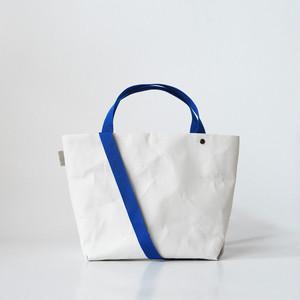 【N/no × E/zel.】SOME WAY LIGHT TOTE BAG (S+)_PP/BLUE