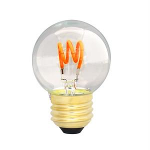 【調光器対応】 E26 エジソンバルブLED スパイラル ミニGLOBE