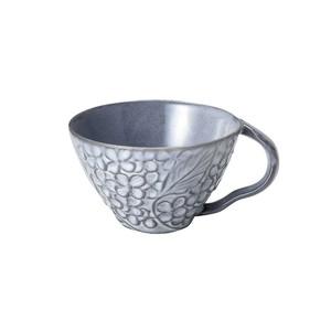 「リアン Lien」スープカップ 直径約12cm 330ml グレー 美濃焼 267827