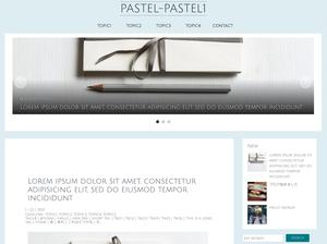 WordPress Theme  | pastel-pastel1