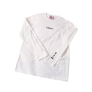 【予約商品】Long sleeve logo T-shirts