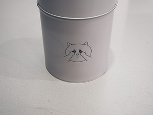 Coffee Canister Cat