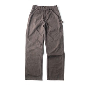 USED Carhartt double front work pants - brown