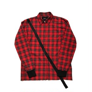 ILL IT - GUITER STRAP SHIRT (RED) -