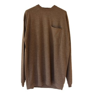 POCKET L/S KNIT(crepuscule)