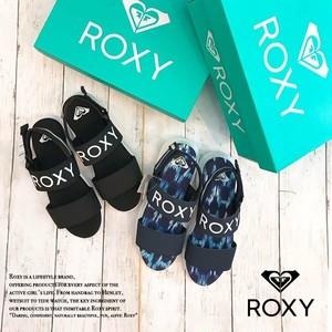 ロキシー アウトドアサンダル ブラック ネイビー レディース スポーツサンダル BELIEVER ROXY