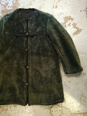 """SWEDISH MILITARY BOA LINER COAT"" Black Color"
